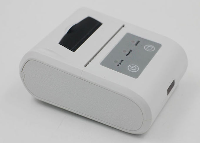High Speed Bluetooth Thermal Printer , Portable Bluetooth Receipt Printer